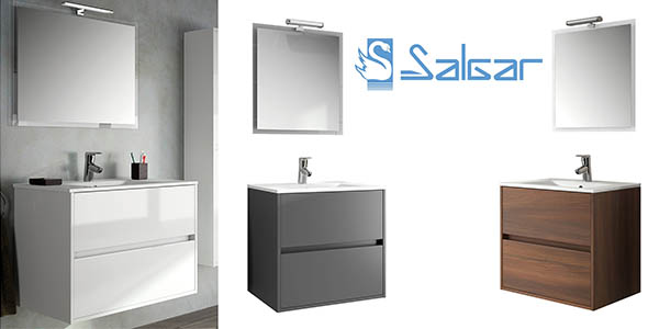 conjunto baño salgar mueble espejo lavabo led ECI ofertas hogar noviembre 2016