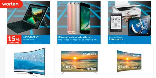 Cybermonday de Worten con ofertas en Smart TV y Telefonía