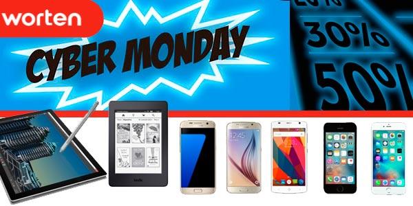 Cybermonday en Worten con Día sin IVA en Smartphone y descuentos en informática y tecnología