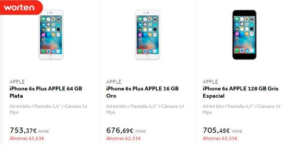 Cybermonday en Worten ofertas en iPhone 6 y iphone 6S