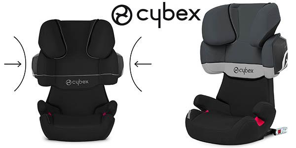 cybex solution x2-fix sillita coche grupo 2/3 barata