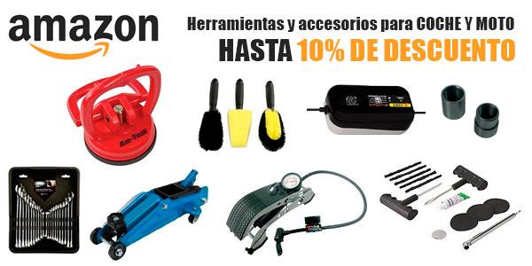 Herramientas y accesorios para coche y moto a buen precio en Amazon