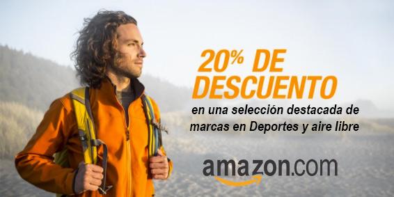 Descuentos en marcas de deportes y aire libre en Amazon