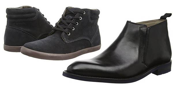 descuentos zapatos clarks hombre mujer
