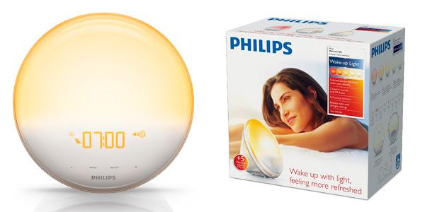 Despertador Philips Wake Up Light HF3520/01 con descuento por el Black Friday en Amazon
