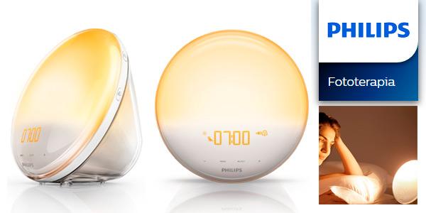 Desdpertador Philips Wake Up Light HF3520/01 en oferta Black Friday en Amazon