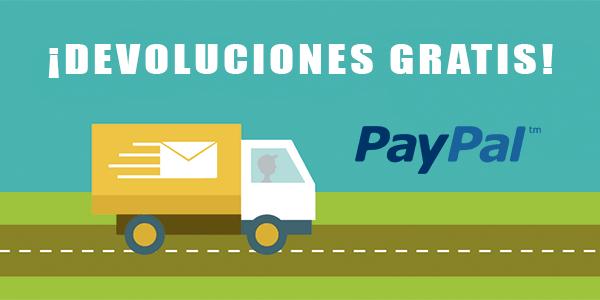 devoluciones gratis con PayPal