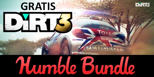 DiRT 3 Gratis en Steam Humble Bundle sólo hoy