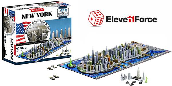 eleven force puzzle 4d nueva york barato