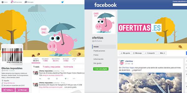facebook twitter ofertitas