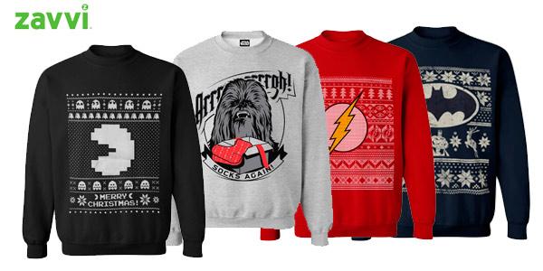 Jerseys navideños geeks y frikis en zavvi a buen precio