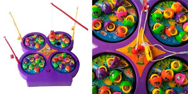 Juego de pesca magnético electrónico para niños a buen precio