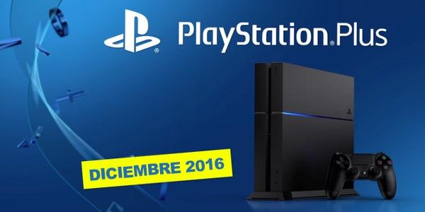 Juegos con PS Plus Diciembre 2016