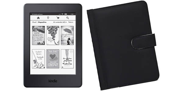 Kindle Paperwhite 4G + funda