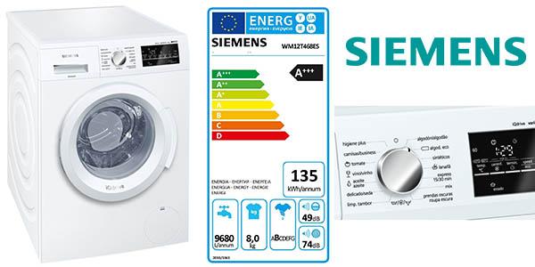 lavadora siemens wm12t468es lavadora 8 kg barata