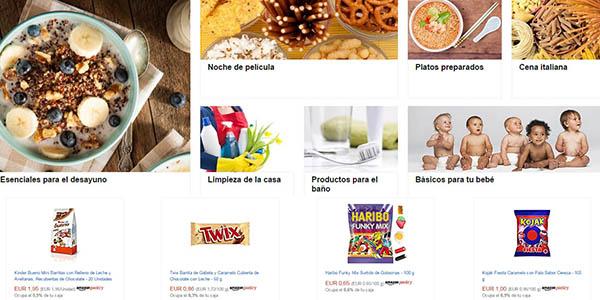 listas compra prediseñadas amazon pantry
