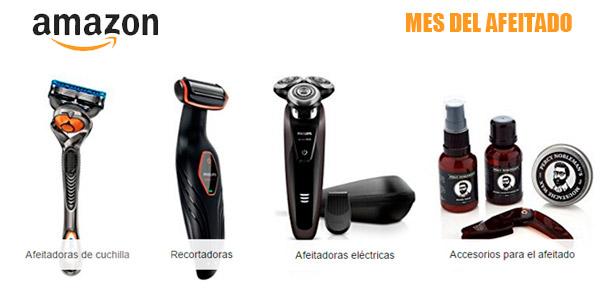 Mes del afeitado en Amazon con multitud de productos con descuento