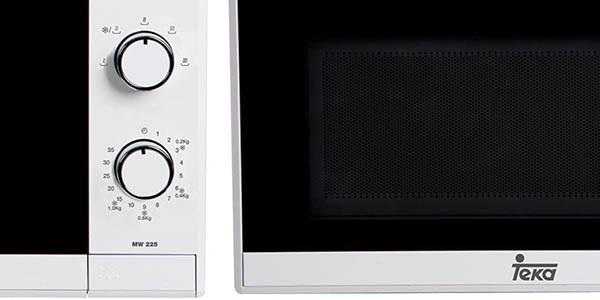microondas funciones basicas 1050 vatios potencia 20 litros