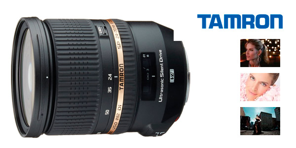 Objetivo Tamron SP 24-70 mm F/ 2.8 Di VC USD para cámaras Canon a buen precio