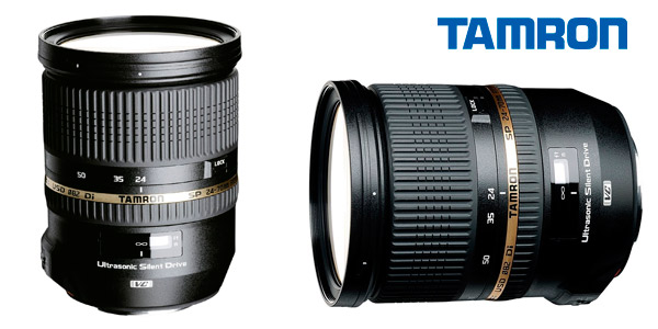 Objetivo Tamron para Nikon SP 24-70,mm F/ 2.8 Di VC USD a buen precio
