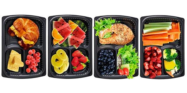 pack Bento Box bandejas apilables para microondas