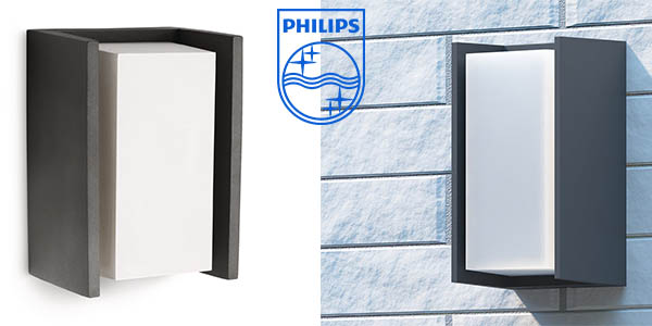 philips ecomoods bridge aplique exterior barato