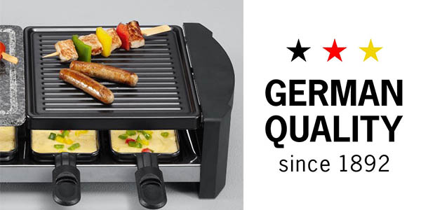 raclette severin party grill precio brutal