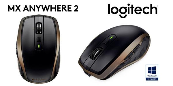 Ratón inalámbrico recargable Logitech Mx Anywhere 2 a buen precio en Amazon