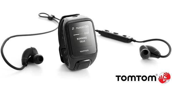 Reloj deportivo Tomtom Spark Cardio + Music y Auriculares deportivos