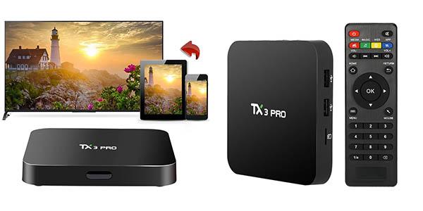 Tv Box docooler TX3 PRO barato