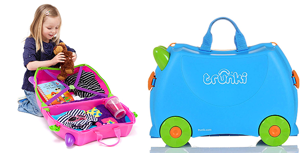 trolley infantil Trunki Trixie de diseño divertido oferta