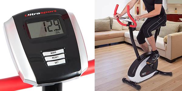 ultrasport racer 150 bibiclet estatica sensores pulso