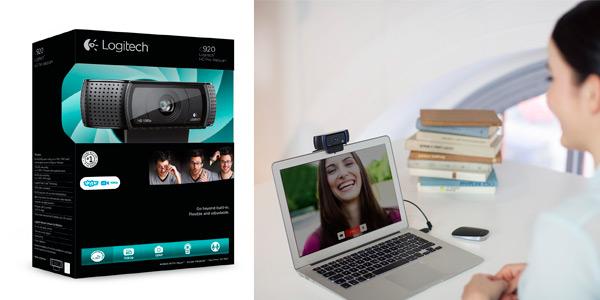 Webcam Logitech C920 HD Pro para grabar video o streaming a buen precio en el Black Friday