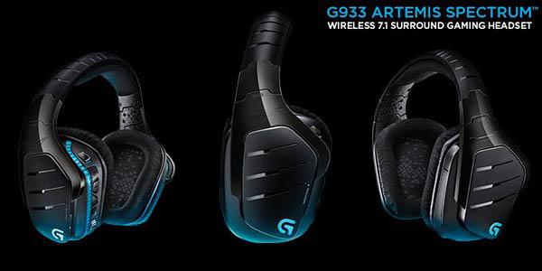 Auriculares gaming Logitech G933 Artemis Spectrum