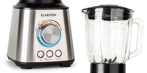 Batidora de vaso de cristal Klarstein Herakles