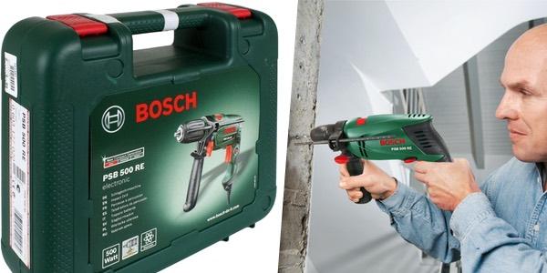 Taladro de percusión Bosch PSB 500 RE Compact