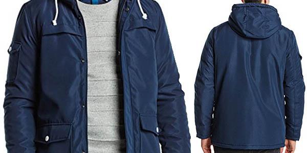 chaqueta acolchada impermeable jack jones precio brutal