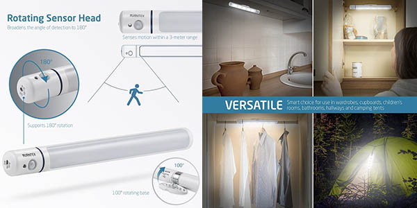 fluorescente iluminar interior armarios espectacular relación calidad-precio