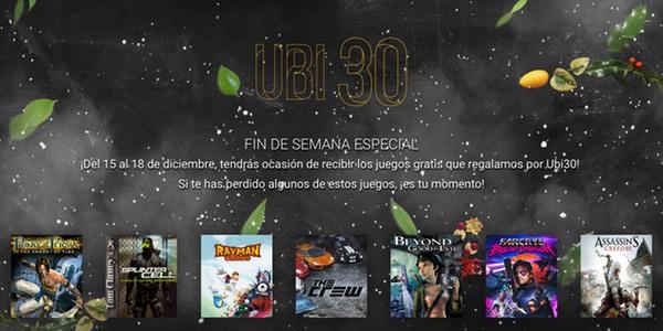 juegos gratis para PC Ubisoft diciembre 2016