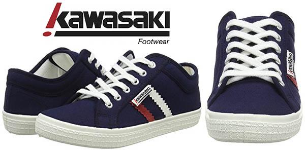 kawasaki slam canvas zapatillas casual baratas unisex