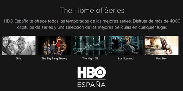 Series y películas HBO España