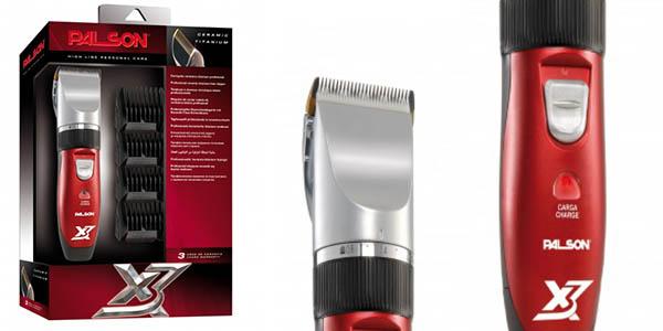 maquina cortapelos palson titanium X3 potente 4 peines corte