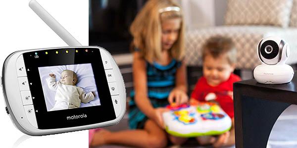 monitor bebes video digital pantalla motorola MBP33S