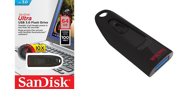 Pendrive Sandisk SDCZ48-64GB-U46 128 GB
