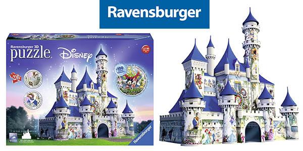 ravensburger puzzle 3D disney castle barato