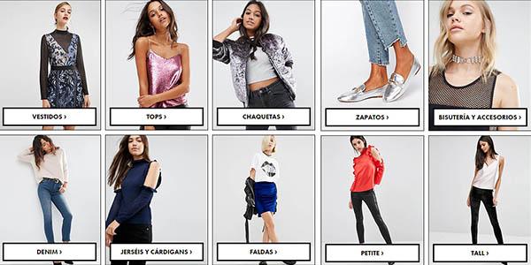 rebajas asos moda mujer hombre coleccion invierno 2016
