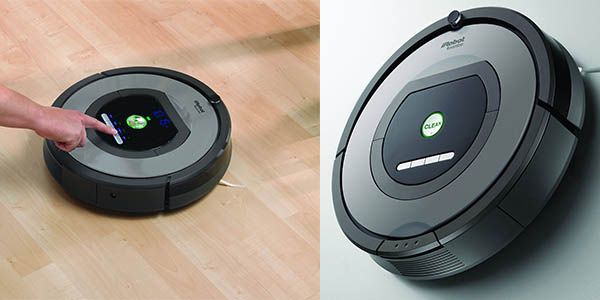 robot inteligente Roomba 772 precio brutal aspirador programable virtual wall
