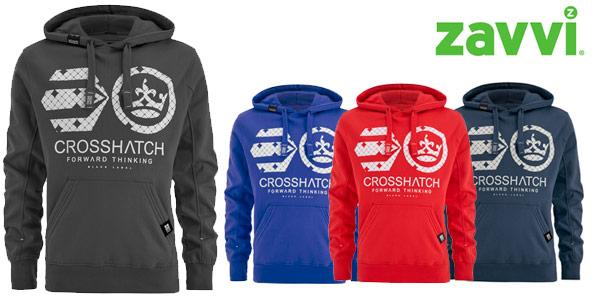 Sudaderas hoodie crosshatch men´s arowana en varios colores en zavvi a buen precio