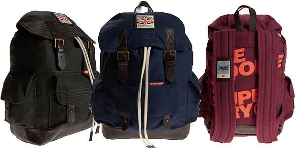 superdry rookie scoutpack mochila barata