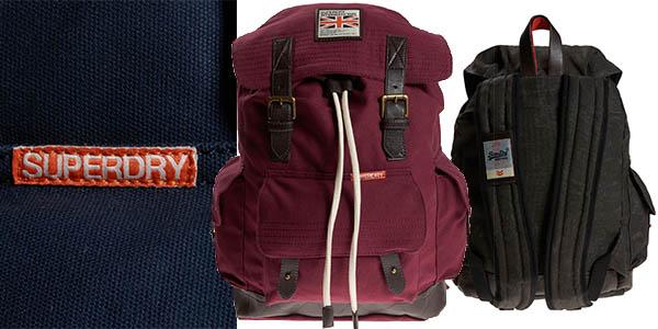 superdry rookie scoutpack mochila espectacular relacion calidad-precio